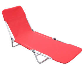 Wilson Amp Fisher Red Sling Folding Lounge Chair Big Lots