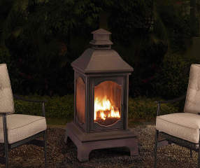 Wilson Amp Fisher Winchester 48 Quot Lantern Outdoor Fireplace