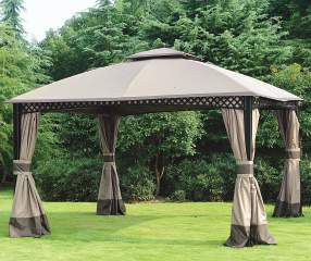 Wilson Amp Fisher Windsor Gazebo With Netting 10 X 12