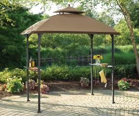 Wilson Amp Fisher Windsor Grill Gazebo Replacement Canopy 5 X 8 Big Lots