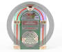 Winter Wonder Lane Light and Sound Jukebox Décor