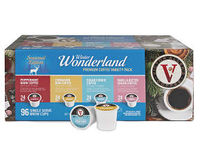 Victor Allen Winter Wonderland Variety Pack 96 Pack Single