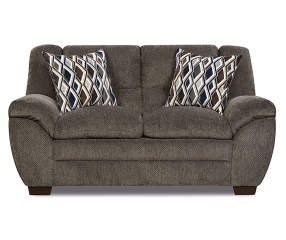 Simmons Worthington Pewter Loveseat Big Lots