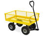 YELLOW GARDEN CART