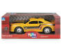 Yellow Light and Sound Camaro Racing Car In Package Silo