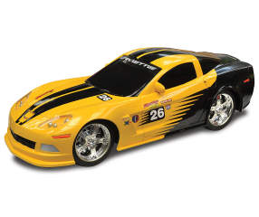 Yellow Amp Black Chevrolet Corvette Remote Control Racing