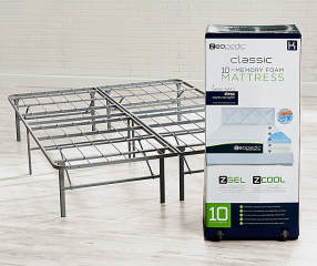 Zeopedic Classic 10 Quot King Gel Infused Memory Foam Mattress