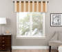 Zinnia Wheat Blackout Blackout Window Valance 52in x 18in lifestyle