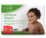 b loved Premium Diapers, Size 2, 37-Pack