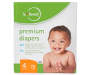 b loved Premium Diapers, Size 4, 72-Pack