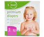 b loved Premium Diapers, Size 5, 62-Pack