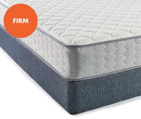 serta firm full mattress box spring set perfect sleeper bayport big lots. Black Bedroom Furniture Sets. Home Design Ideas