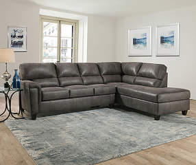 Lane Navigation Gray Living Room Sectional Big Lots