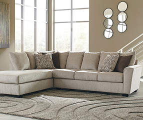 Signature Design By Ashley Ellabury Living Room Sectional