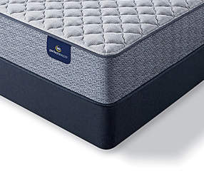 Serta Firm Queen Mattress & Box Spring Set, iCollection