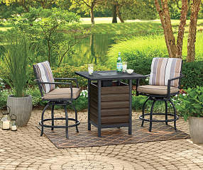Wilson Amp Fisher Bayshore 3 Piece High Top Bistro Fire Pit