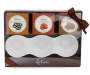 delixie Gourmet Food Gift Set with Serving Tray Silo In Package