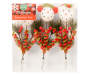 snowman picks 3 piece set package silo image