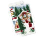 snowy cottages christmas kitchen towels 2 pack stacked and fanned silo image