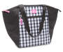 30-Can Black Gingham Everyday Cooler Tote