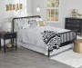 Rowan Valley Linden Black Full Bed Frame lifestyle