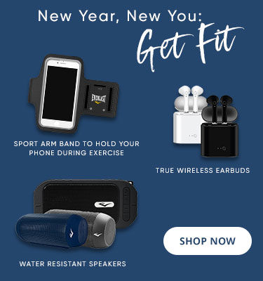 Wireless Earbuds, Sport Arm Band, Water Resistant Speakers