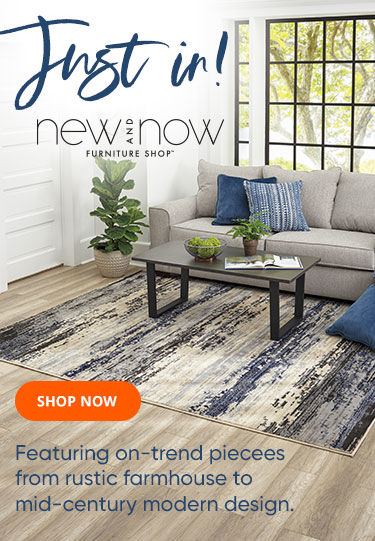 new and now furniture, available for a limited time! shop now