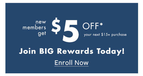 Big Lots Rewards. Sign Up Today.