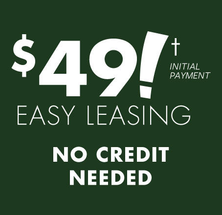 $49 Initial Payment Easy Leasing