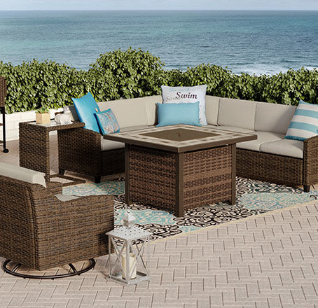 augusta furniture for extra large patios