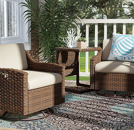 augusta furniture for small patios
