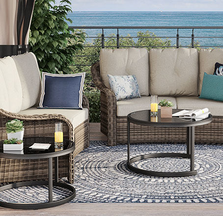 lakewood patio furniture for medium patios