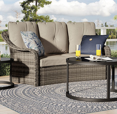 lakewood patio furniture for small patios