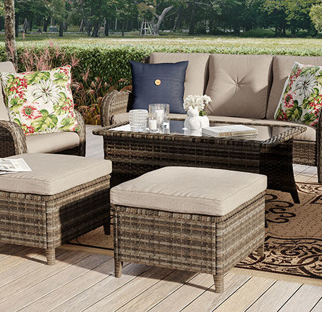 oakmont collection for large patios
