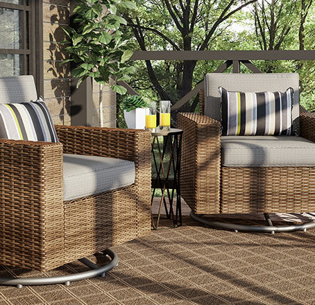 shadow creek collection for small patios