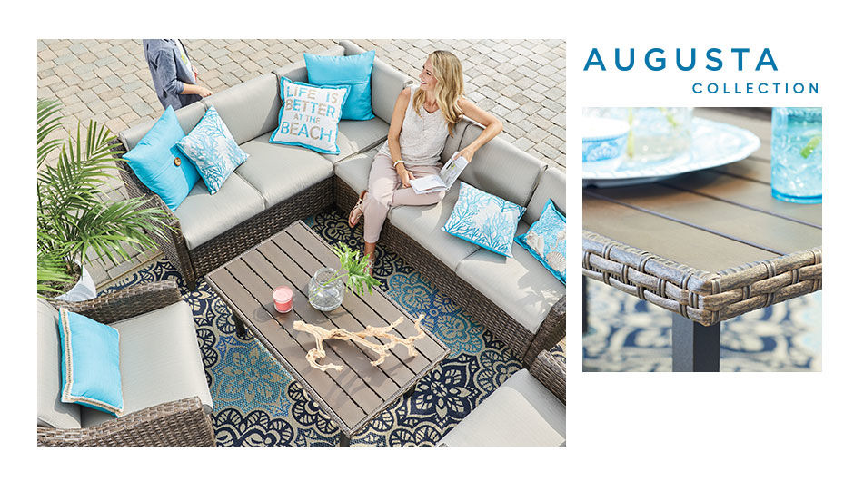 Shop the Augusta Patio Collection