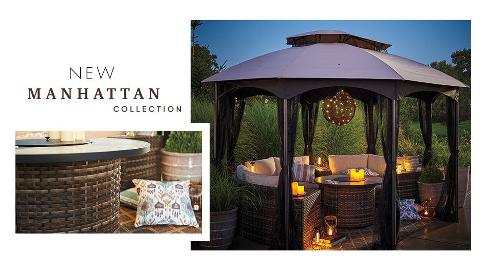 Shop the New Manhattan Patio Collection