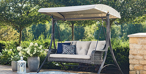 Lakewood collection outdoor covered bench
