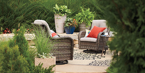 oakmont collection outdoor seating set