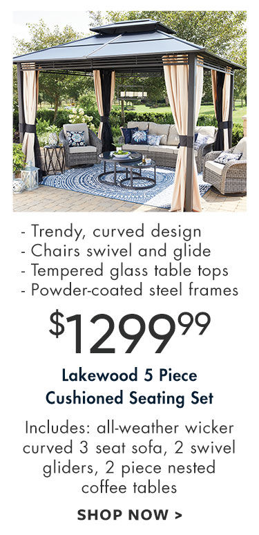 Lakewood Patio Furniture Collection Big Lots