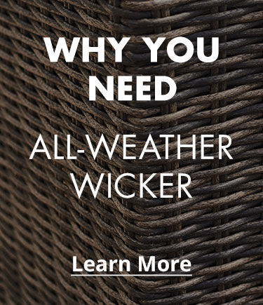 Why You Need All-Weather Wicker patio furniture