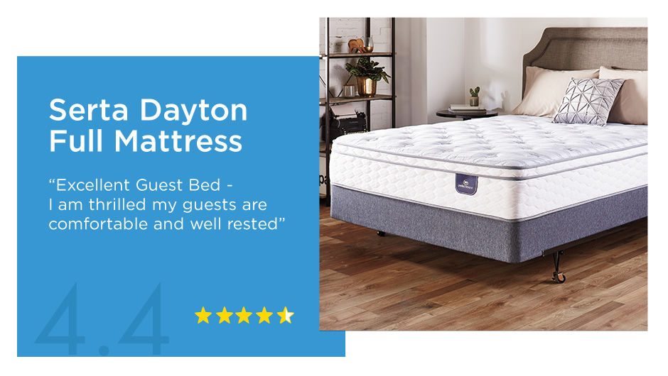 Serta Dayton Full Mattress 4.4 Star Review