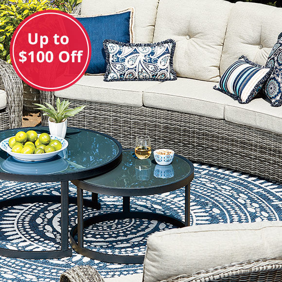 Save Up to $100 Off Patio Sets