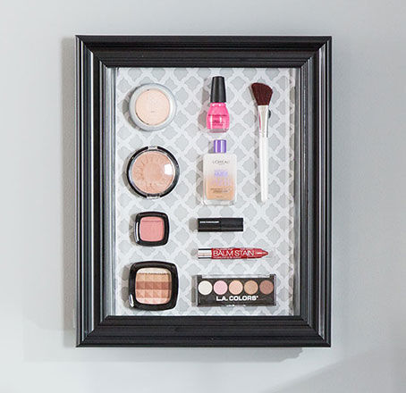 Magnetic Makeup Board DIY. Make It.