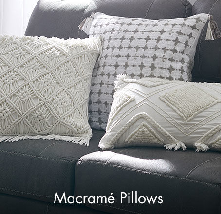 Shop macramé throw pillows