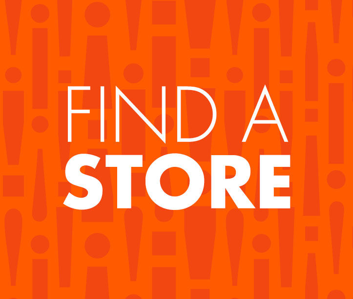 Find a Store with our Store Locator