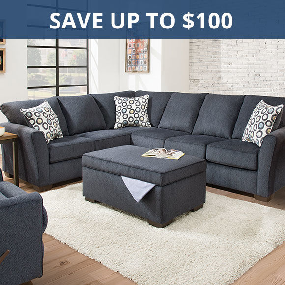 Save up to 50 dollars on sectionals. Shop Sectionals