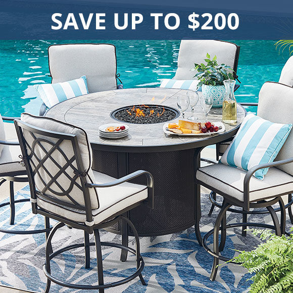 Save up to 100 dollars on patio furniture. Shop Patio Deals