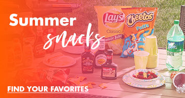 Summer Snacks. Find Your Favorities at Your Big Lots Store