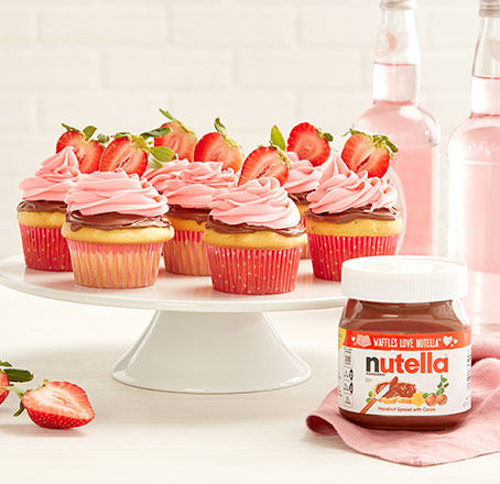 Summer Recipe: Strawberry Nutella Cupakes